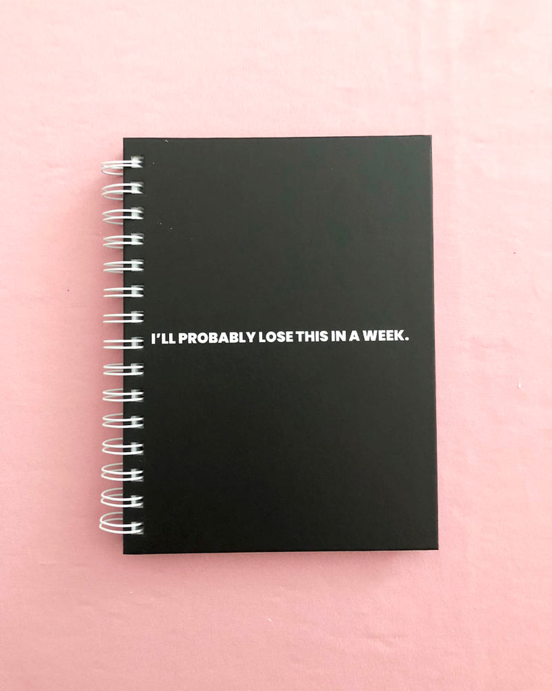 LOSE THIS. NOTEBOOK