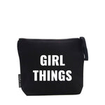 GIRL THINGS ZIP BAG