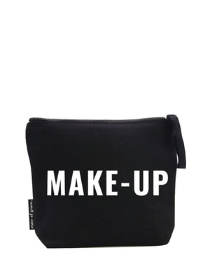 make-up. medium zip bag