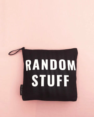 RANDOM STUFF ZIP BAG