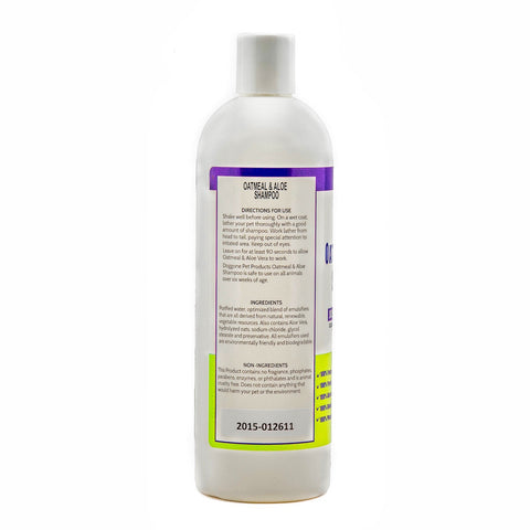 Oatmeal & Aloe Hypoallergenic Natural Dog Shampoo