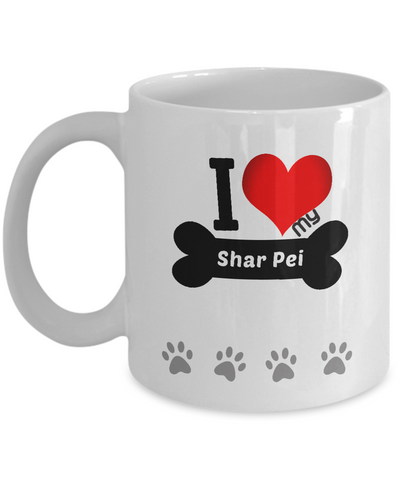 I Love My Shar Pei