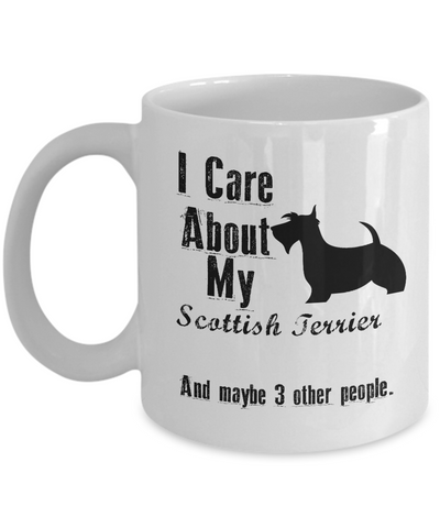 I Care About My Scottish Terrier