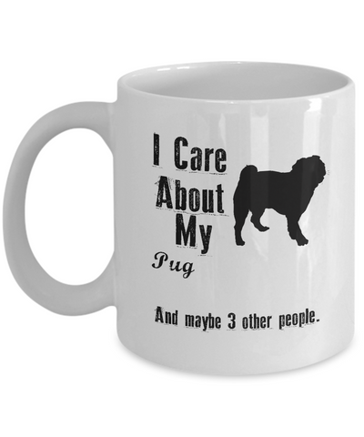 I Care About My Pug