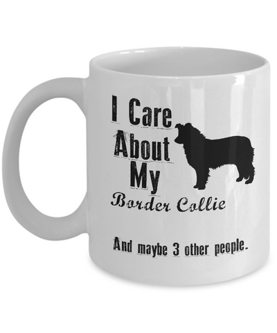 I Care About My Border Collie