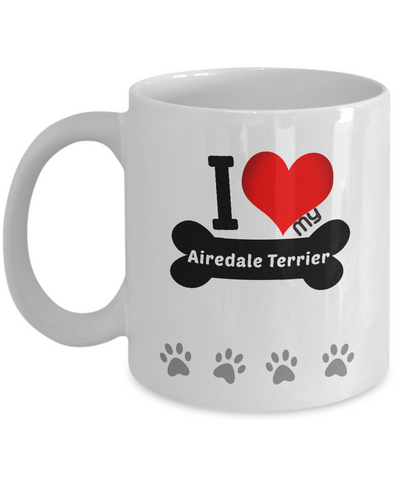 I Love My Airedale Terrier