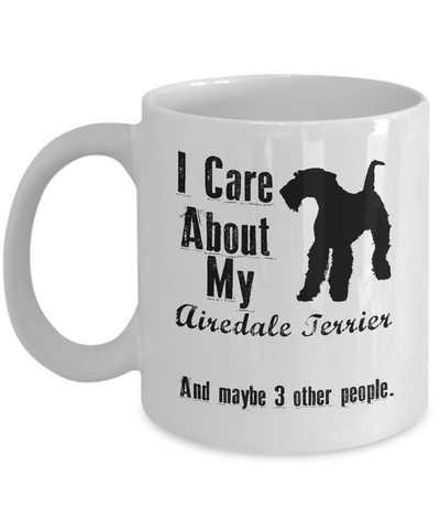 I Care About My Airedale Terrier