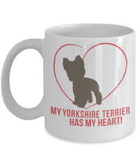My Yorkshire Terrier Has My Heart