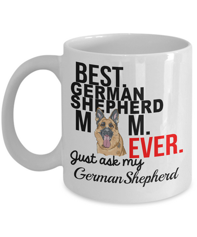 Best German Shepherd Mom Ever