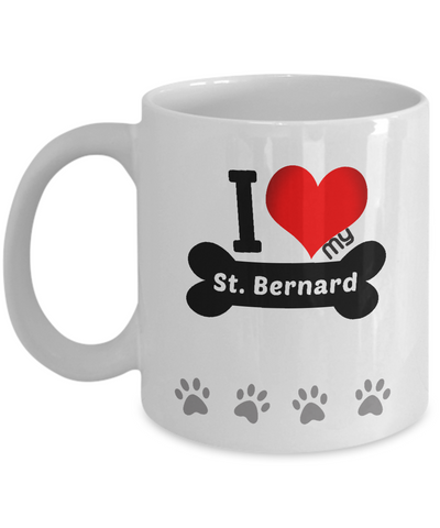 I Love My St. Bernard