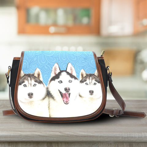 Huskies Saddle Bag