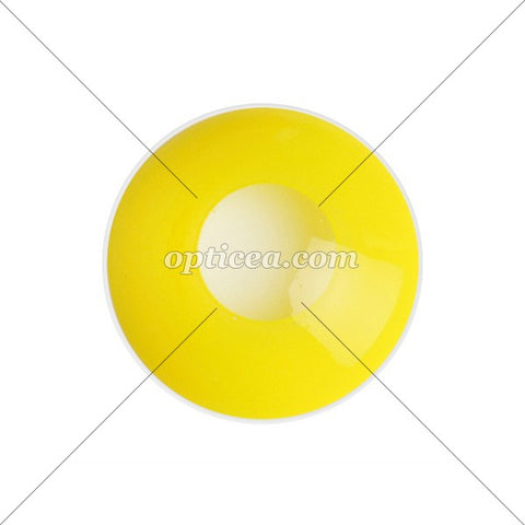 JAUNE-JAPON   Lentille fantaisie sans correction 2d8ca2214c16