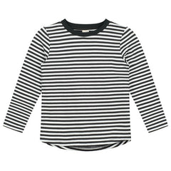 LONGSLEEVE gestreift nearly black/cream