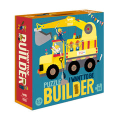 "PUZZLE ""I WANT TO BE .. Builder"""
