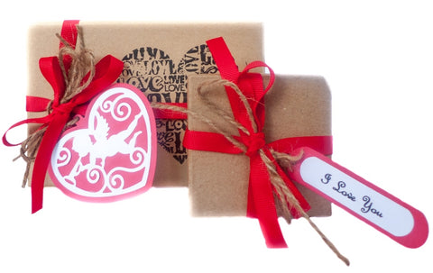 Valentines Natural Skincare gift packs