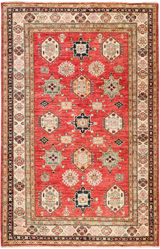 10203 - Vegetable Dye Wool Large Rug - 300X400cm