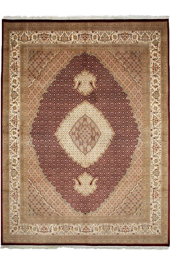 10271 - Vegetable Dye Wool Large Rug - 300X400cm
