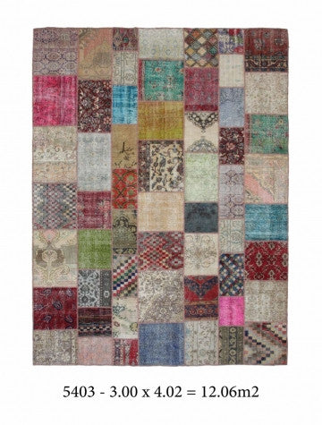 10290 - Vegetable Dye Wool Large Rug - 300X400cm