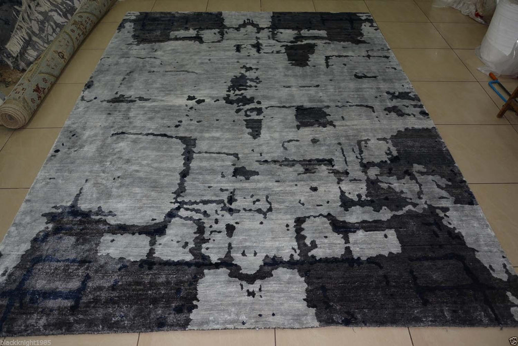 10255 - Vegetable Dye Wool Large Rug - 300X400cm