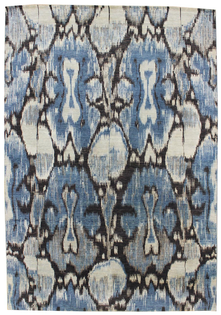 10163 - Vegetable Dye Wool Large Rug - 300X500cm