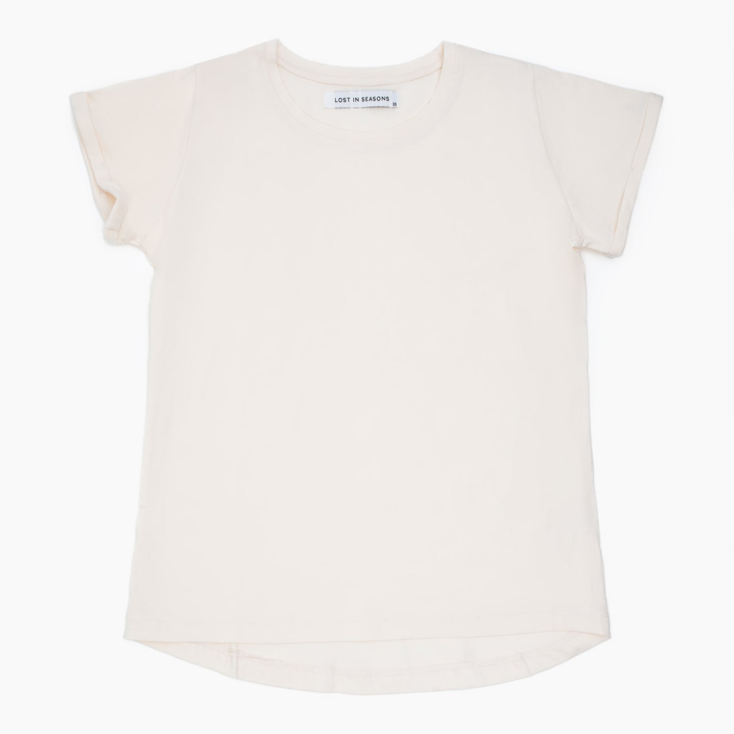Round Neck T-shirt Pale Pink