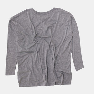 Long Sleeve Swing Tee Misty Grey
