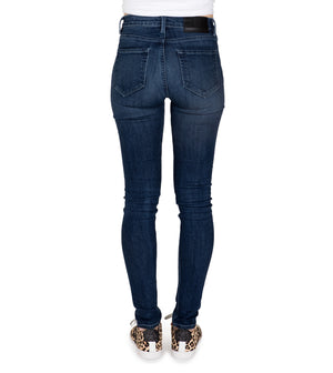 Womens High Rise Skinny / Fresh Blue