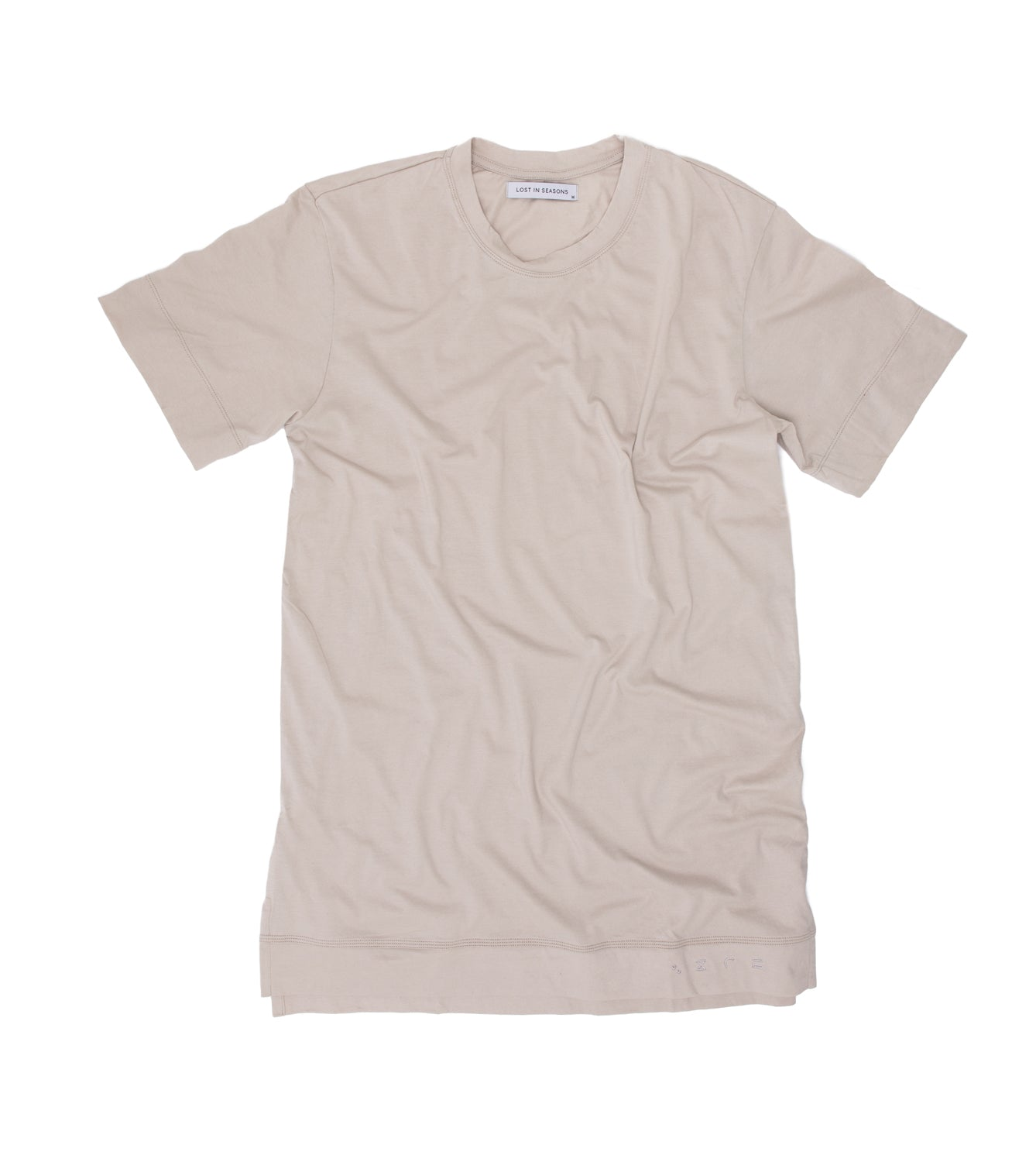 Mens T-shirt w/ Embroidery Soil