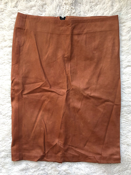 Pencil Skirt with Back Zip