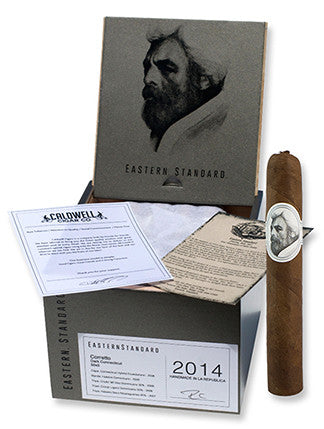 Çaldwell Cigars Eastern Standard Super Toro The Cypress Room Dark Connecticut