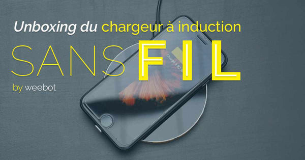 Unboxing du Chargeur à induction sans fil pour iPhone