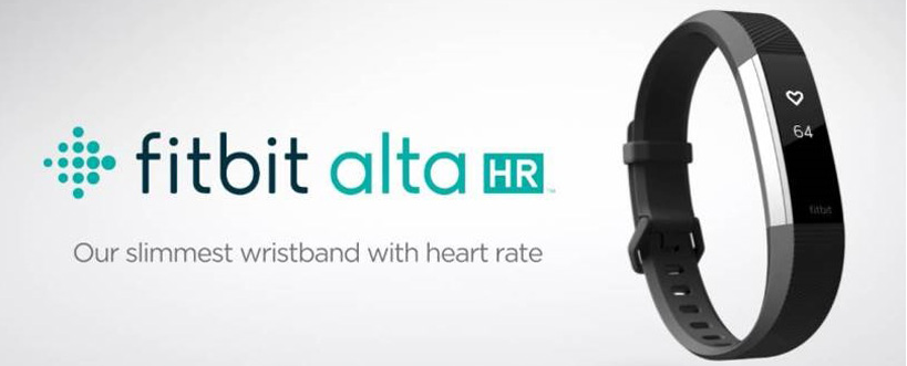 fitbit alta hr bracelet connecté tracker