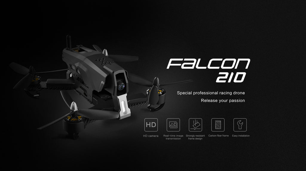 drone course falcon 210 specifications