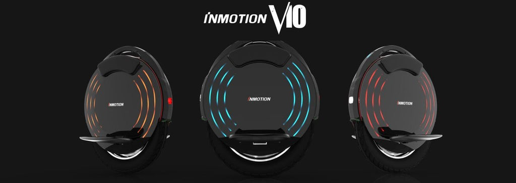 monoroue inmotion v10 publicite