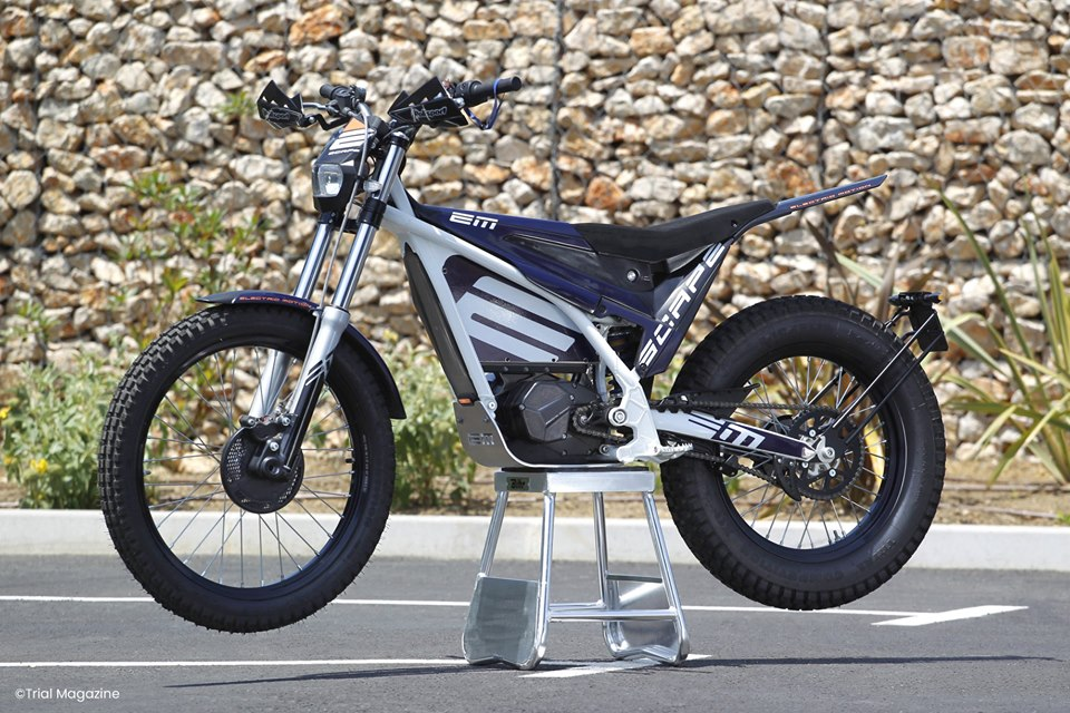 moto electrique electric motion escape test avis