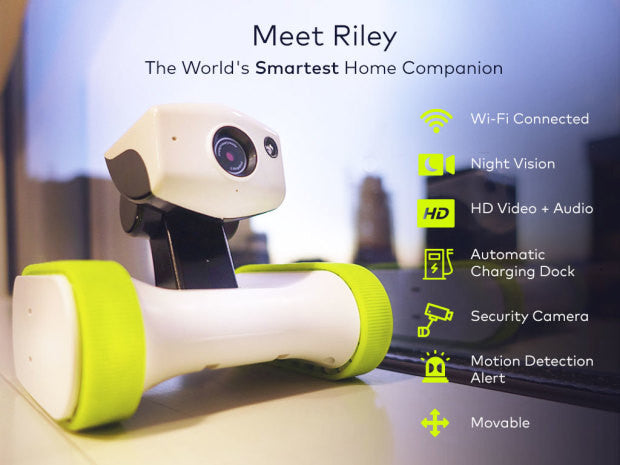 approbot riley robot connecte securite specifications