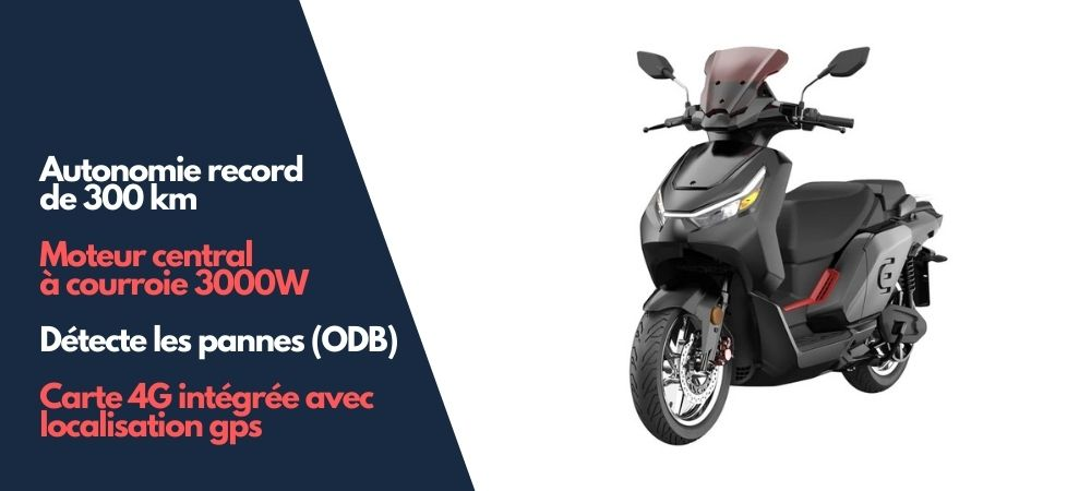 scooter électrique red electric model e50 pas cher autonomie