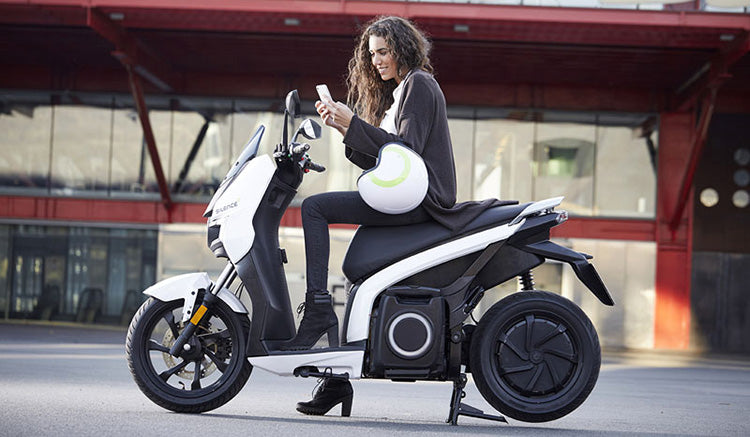 scooter electrique silence s01 blanc