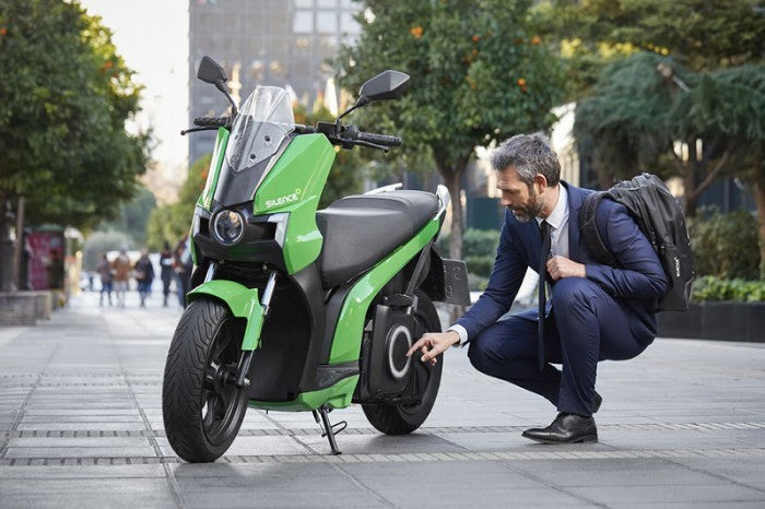 scooter electrique silence s01 vert france