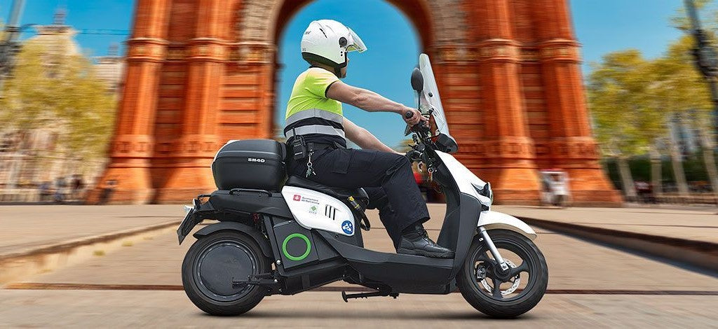 scooter electrique silence s02 police