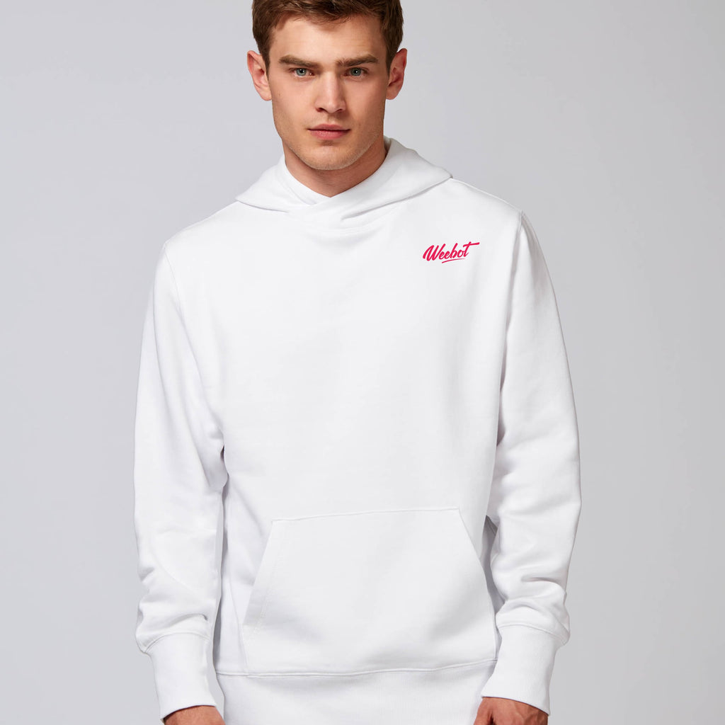 sweat shirt weebot chill blanc homme