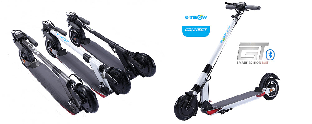 trottinette électrique etwow booster gt se smart edition 2020 bluetooth