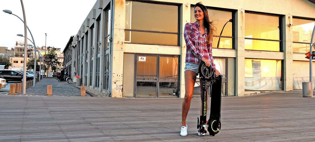 trottinette electrique inokim light lifestyle