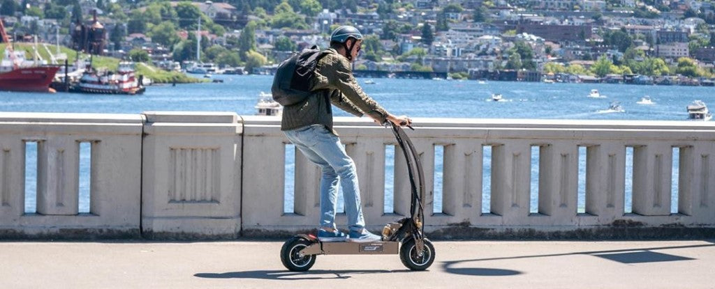 trottinette electrique weped gt weebot test