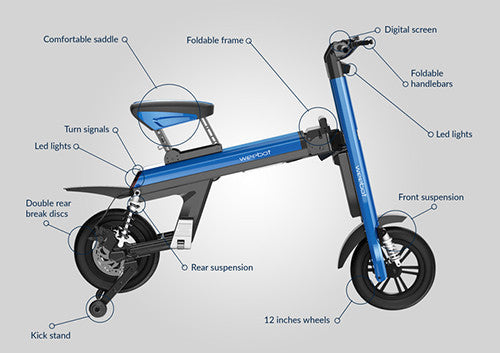 velo electrique pliant aero world smartest ebike specs