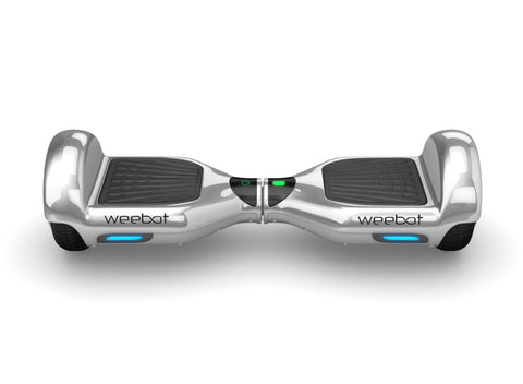 Hoverboard Classic Silver Chrome - 6,5 Pouces