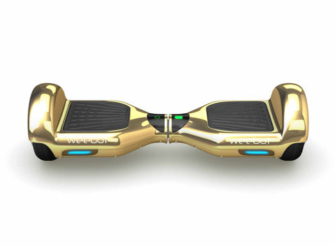 Hoverboard Classic Gold Chrome - 6,5 Pouces