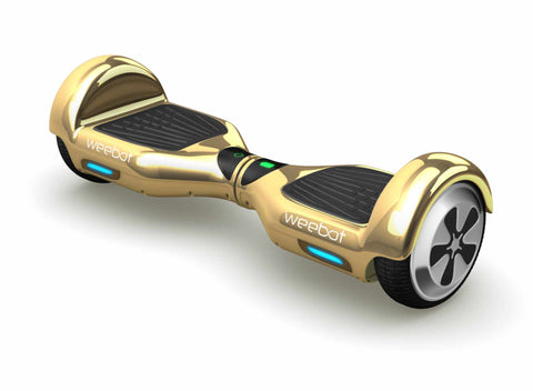 Hoverboard Classic Gold Chrome - 6,5 Pouces - Weebot