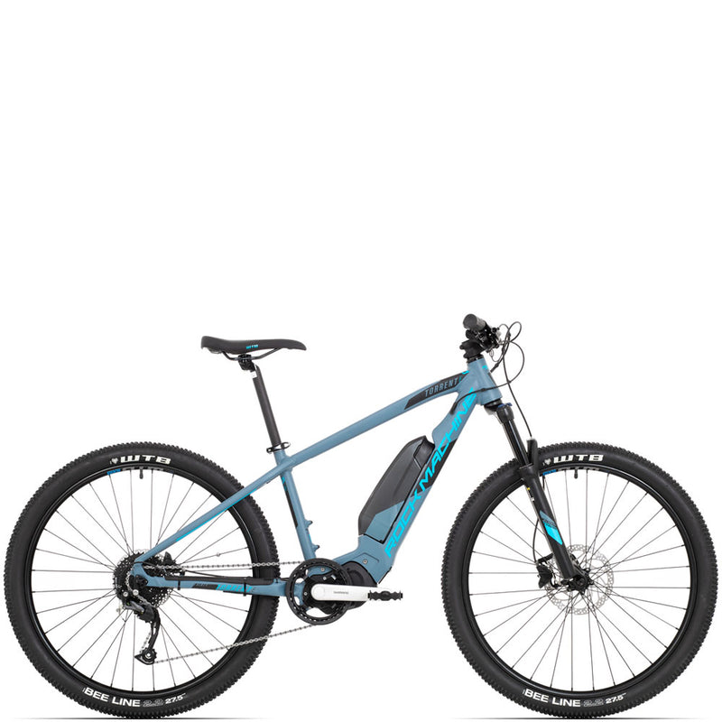 Velo electrique VTT Rock Machine Torrent e30-27 bleu