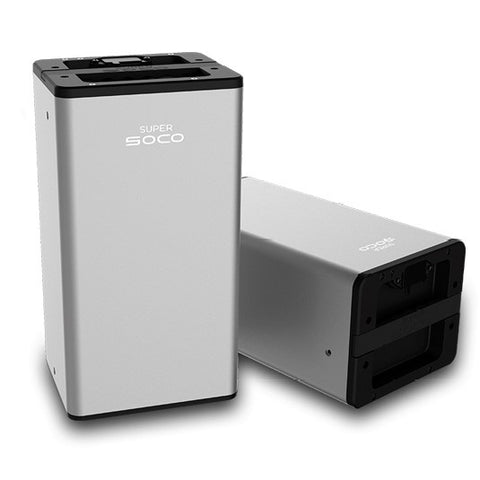 batterie super soco amovible